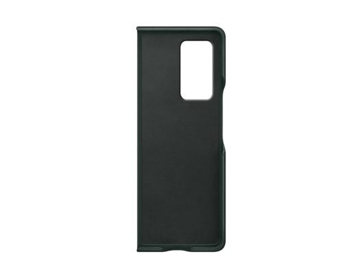 Samsung Galaxy Z Fold 2 Leather Cover Green Inside