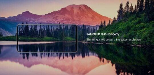 Samsung Galaxy M31s Super AMOLED Infinity-O Display
