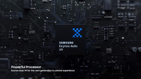 Samsung Digital Cockpit 2021 Exynos Auto V9