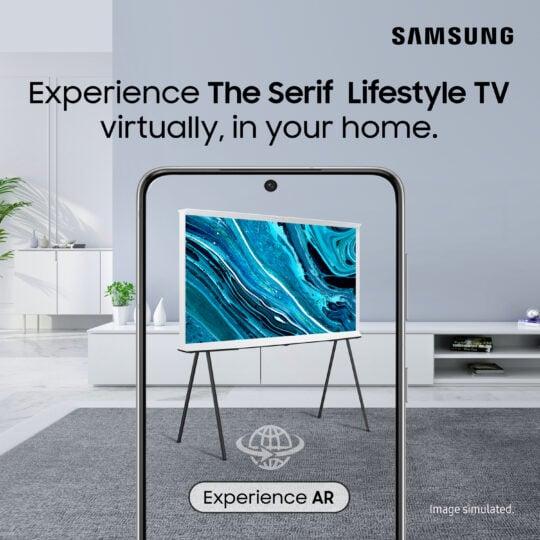 Samsung The Serif TV AR Demo Experience
