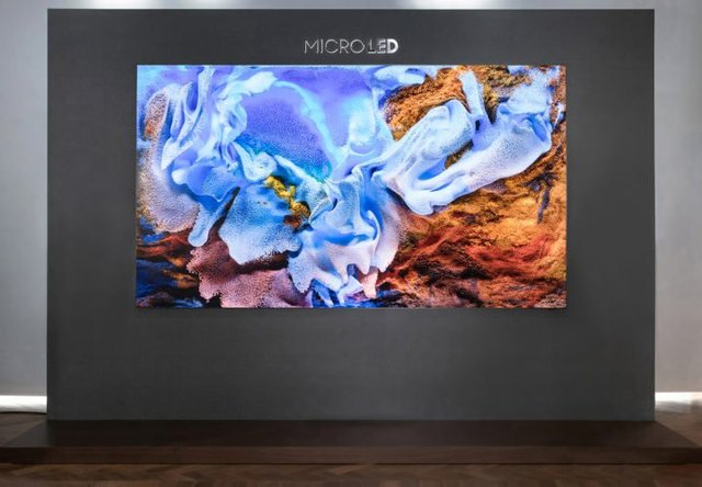 Samsung MicroLED TV 110-Inch Front