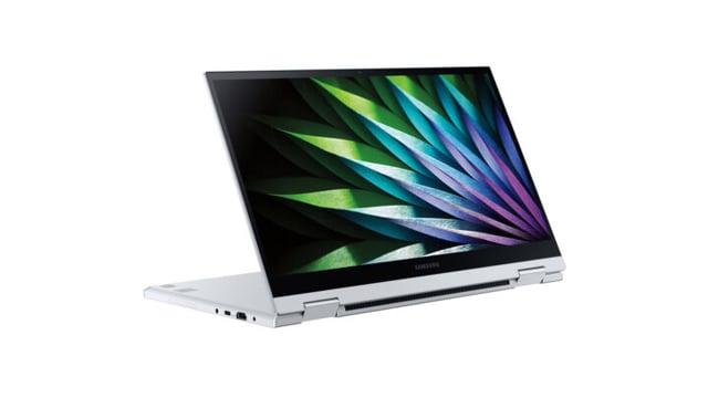 Samsung Galaxy Book Flex 2 Alpha Convertible Design Touchscreen Display White