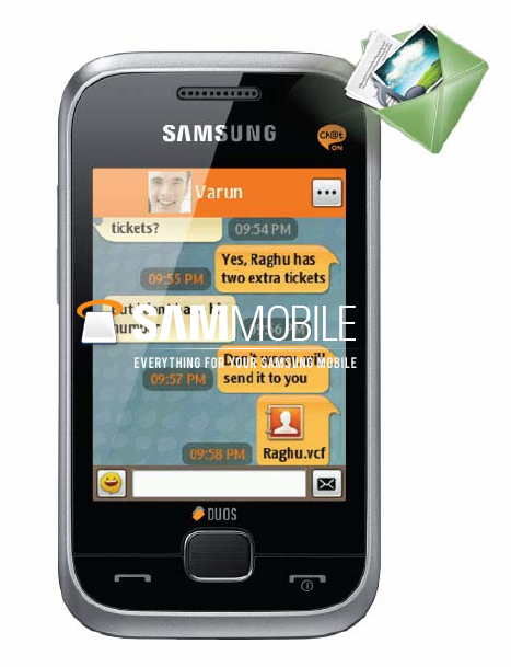 Samsung C3312 Duos reviews and specifications