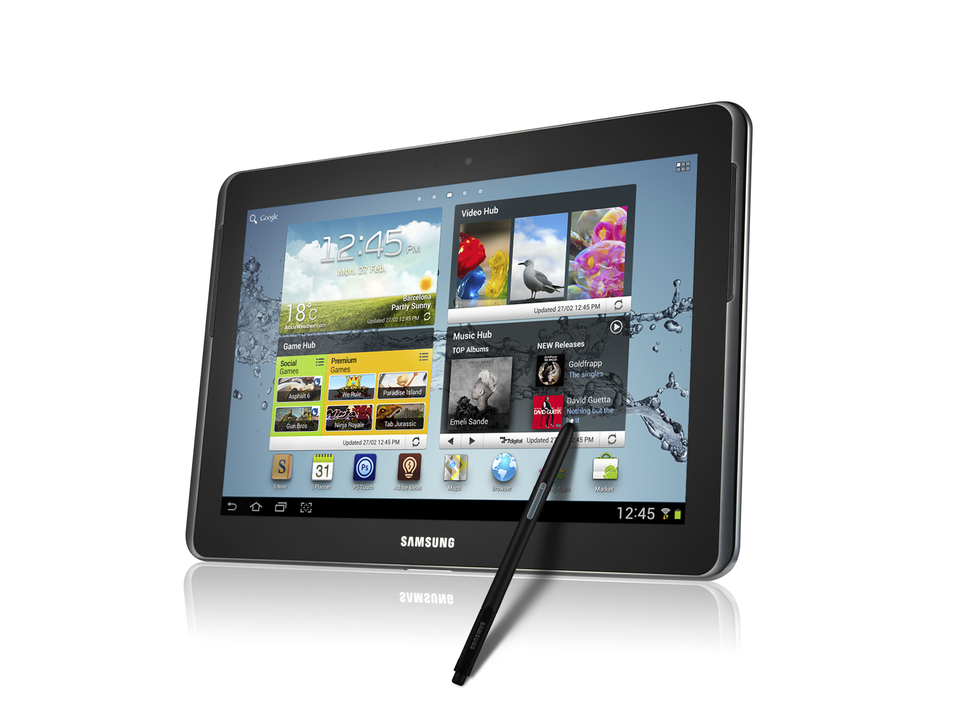 The Galaxy Note 10.1 has landed! - SamMobile