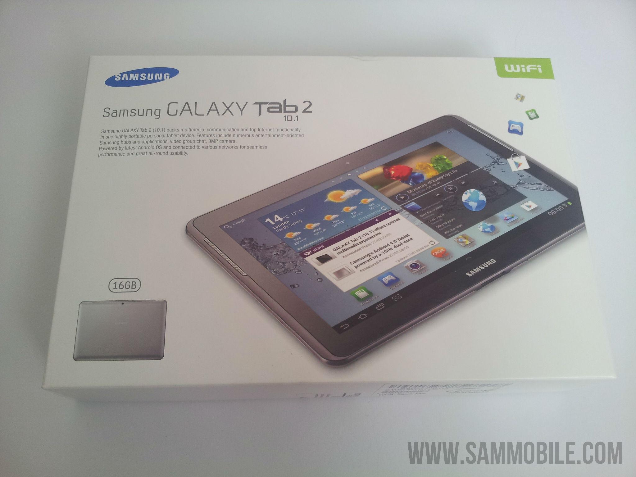 Review Samsung Galaxy Tab 2 10 1 Wifi Gt P5110 Sammobile Sammobile