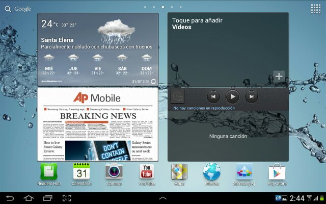 Samsung start Android 4.0.4 updates Galaxy Tab 10.1 WIFI GT-P7510