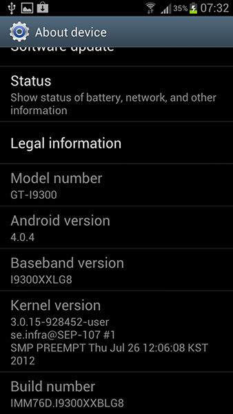 New firmware Galaxy S III brings search function back ...