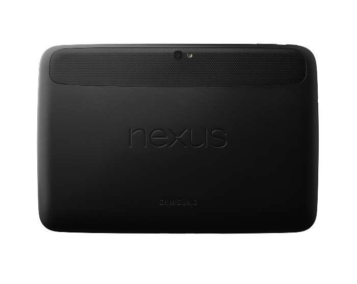 Galaxy Nexus 10 Behind view