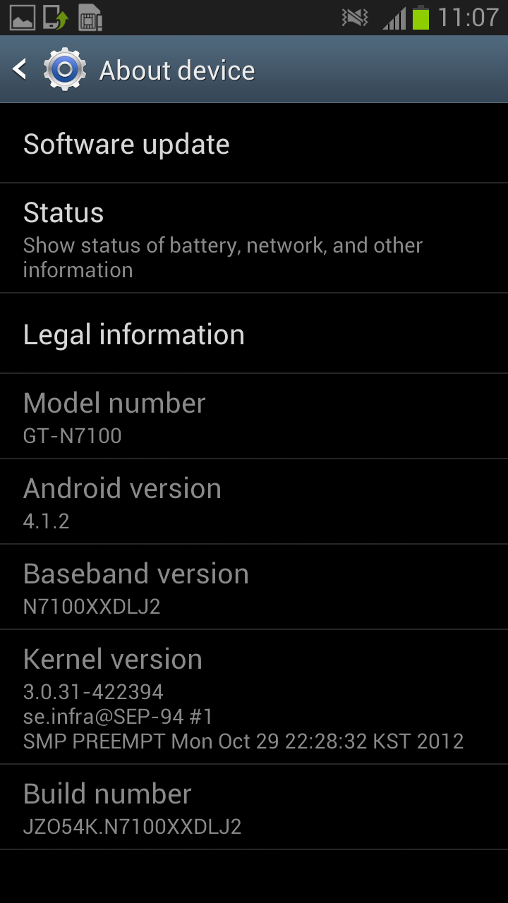 N7100XXDLJ2 – Galaxy Note II Android 4 1 2 Jelly Bean LEAKED