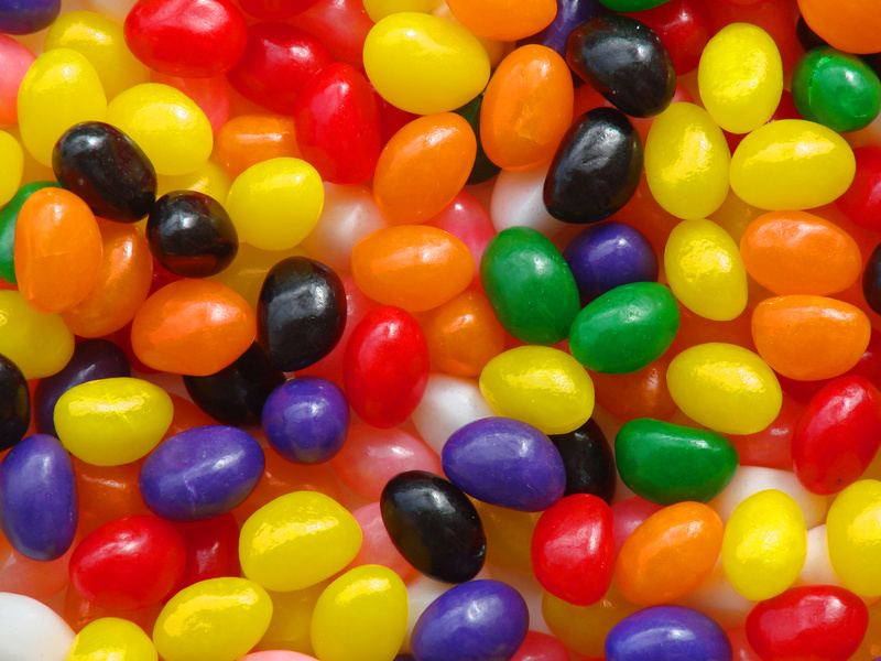 fruity jelly beans