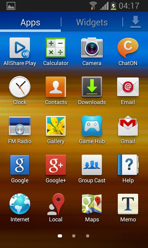 Galaxy Firmware - Samsung Galaxy S II TV (GT-S7273T)