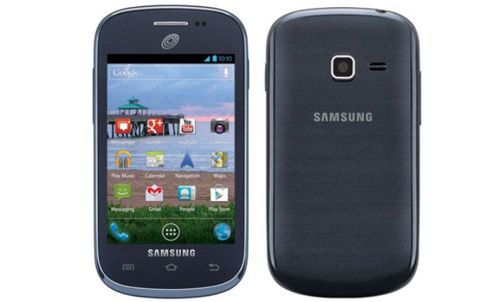 Samsung Galaxy Discover running on pure android