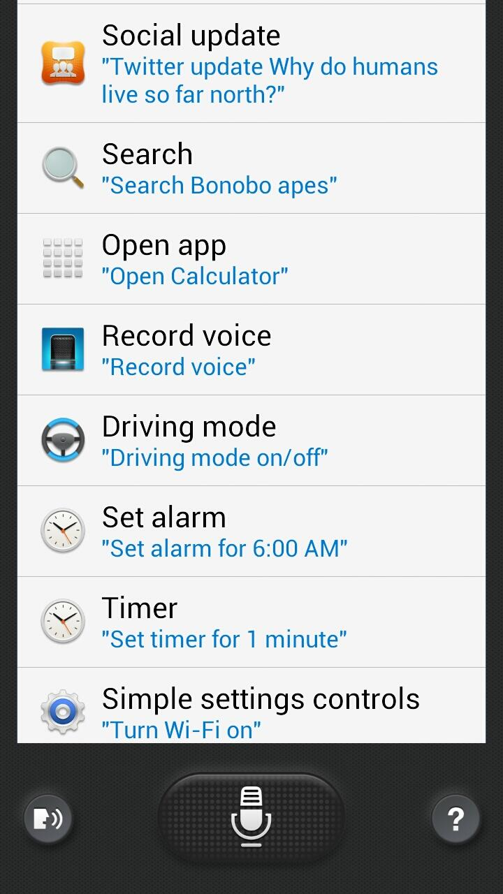 Samsung Galaxy S4's S-Voice APK now available to download