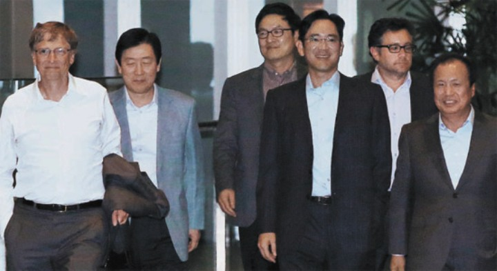 Bill Gates, Choi Gee-sung, Jay Lee, JK Shin
