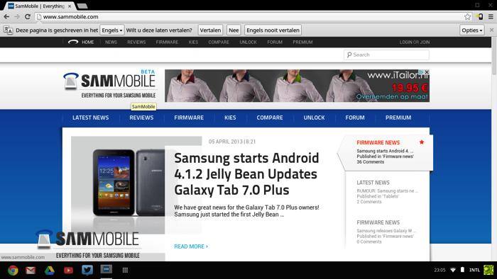 Browser SamMobile