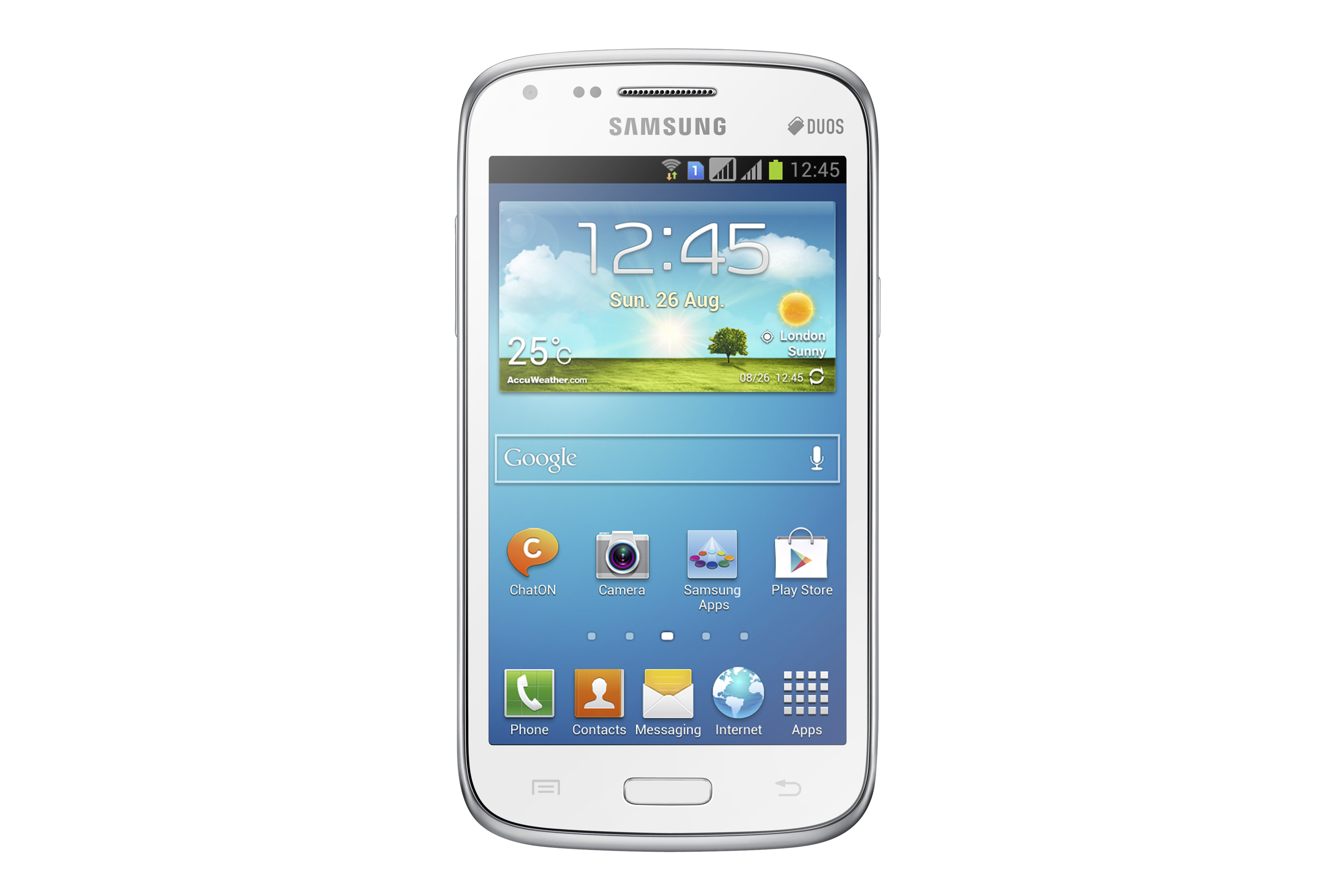Samsung introduced the Galaxy Core