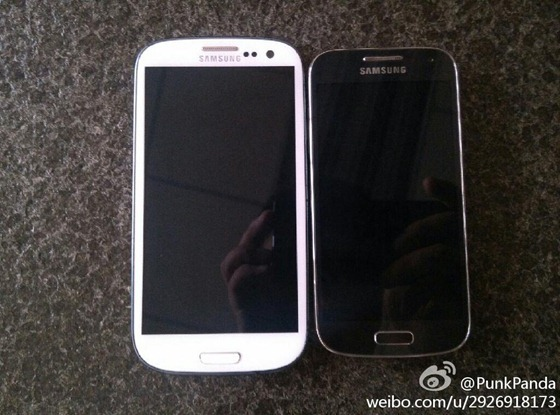 Samsung galaxy s4 mini makes an appearance in leaked pictures