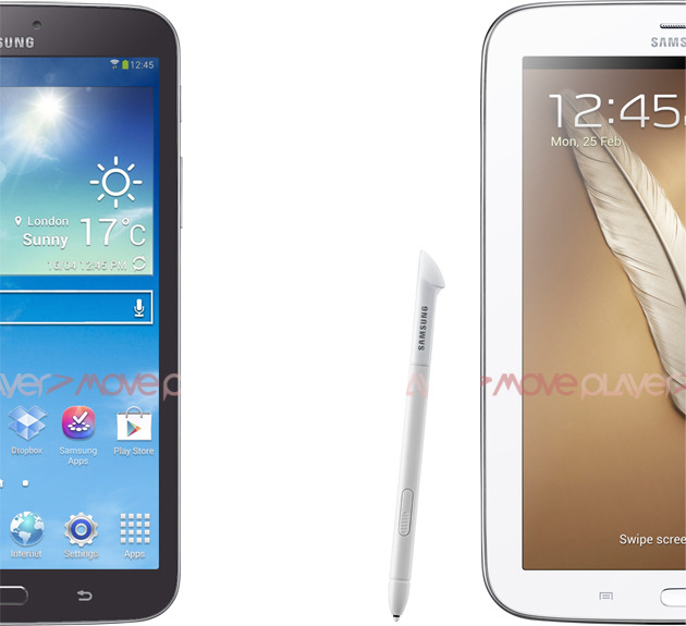 galaxy tab and leaked