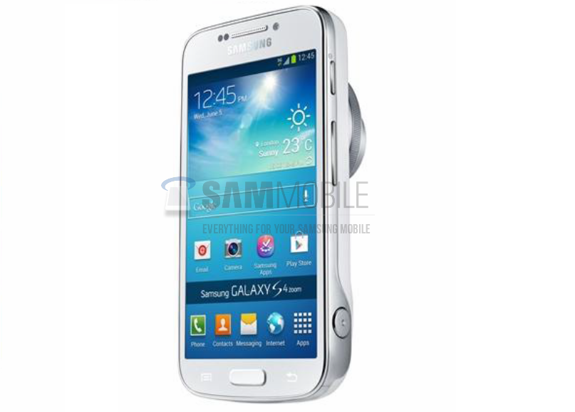 Samsung Galaxy S4 Zoom, Smart Phone Camera