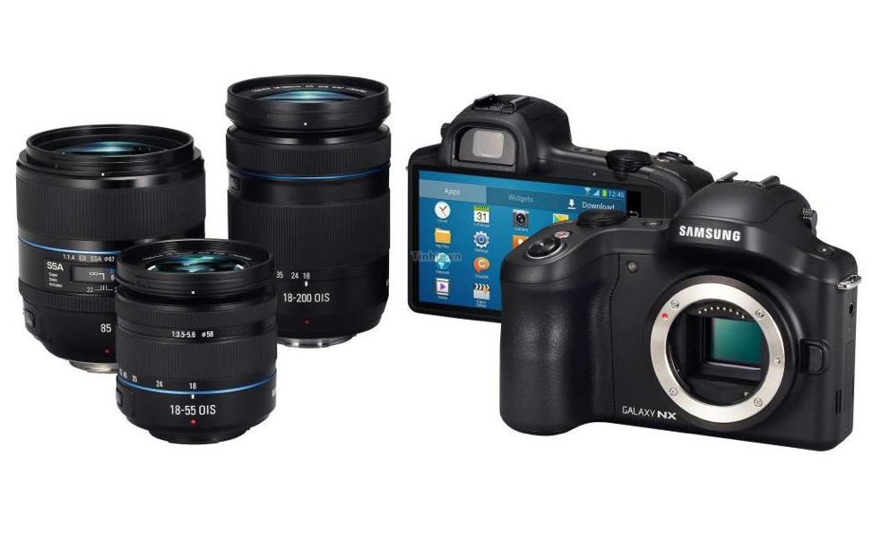 Galaxy NX Android powered DSLR