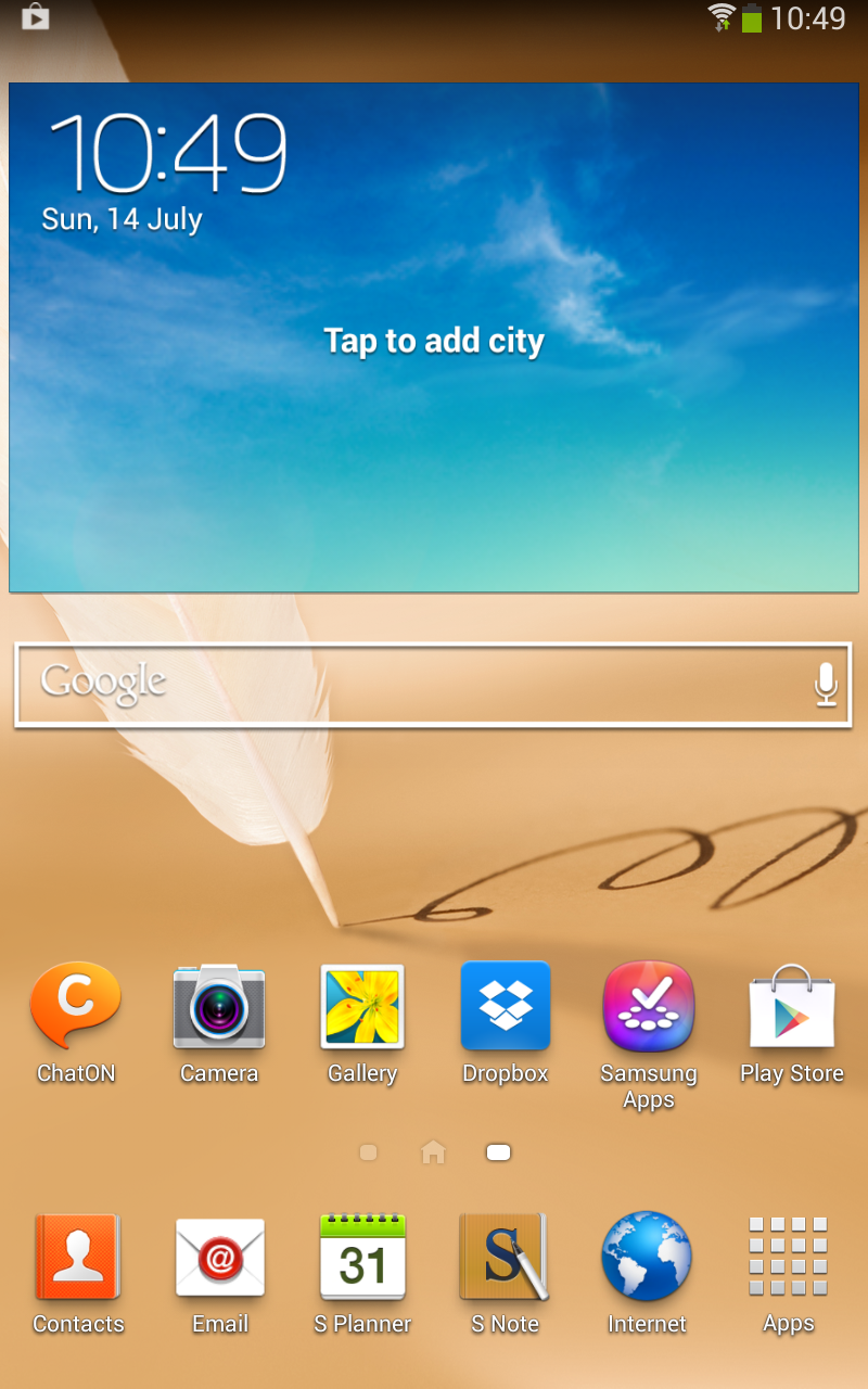 [ROM][LEAK][GT-N5110] N5110XXCMG2 : Installer Android Jelly Bean 4.2.2 sur Samsung Galaxy Note 8.0 WiFi [15/07/2013] Screenshot_2013-07-14-10-49-17