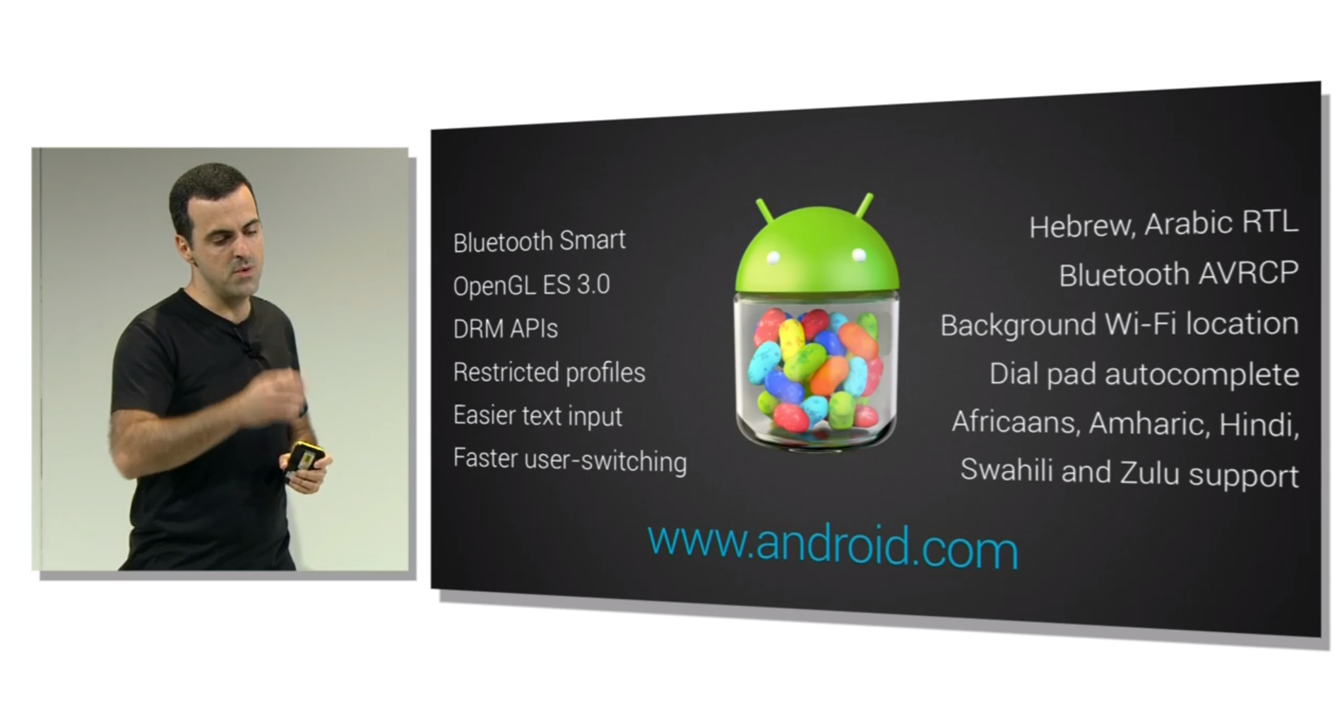 Android 4.3 Specs