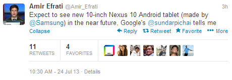 new-nexus-10-says-sundarpichai