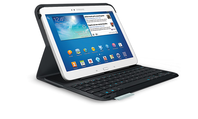 logitech launches protective cases with keyboards for samsung galaxy