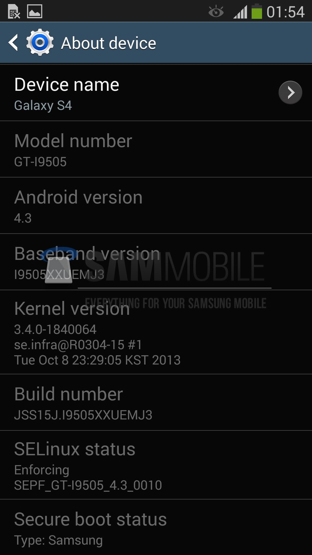 Android 4.3 for Galaxy S4