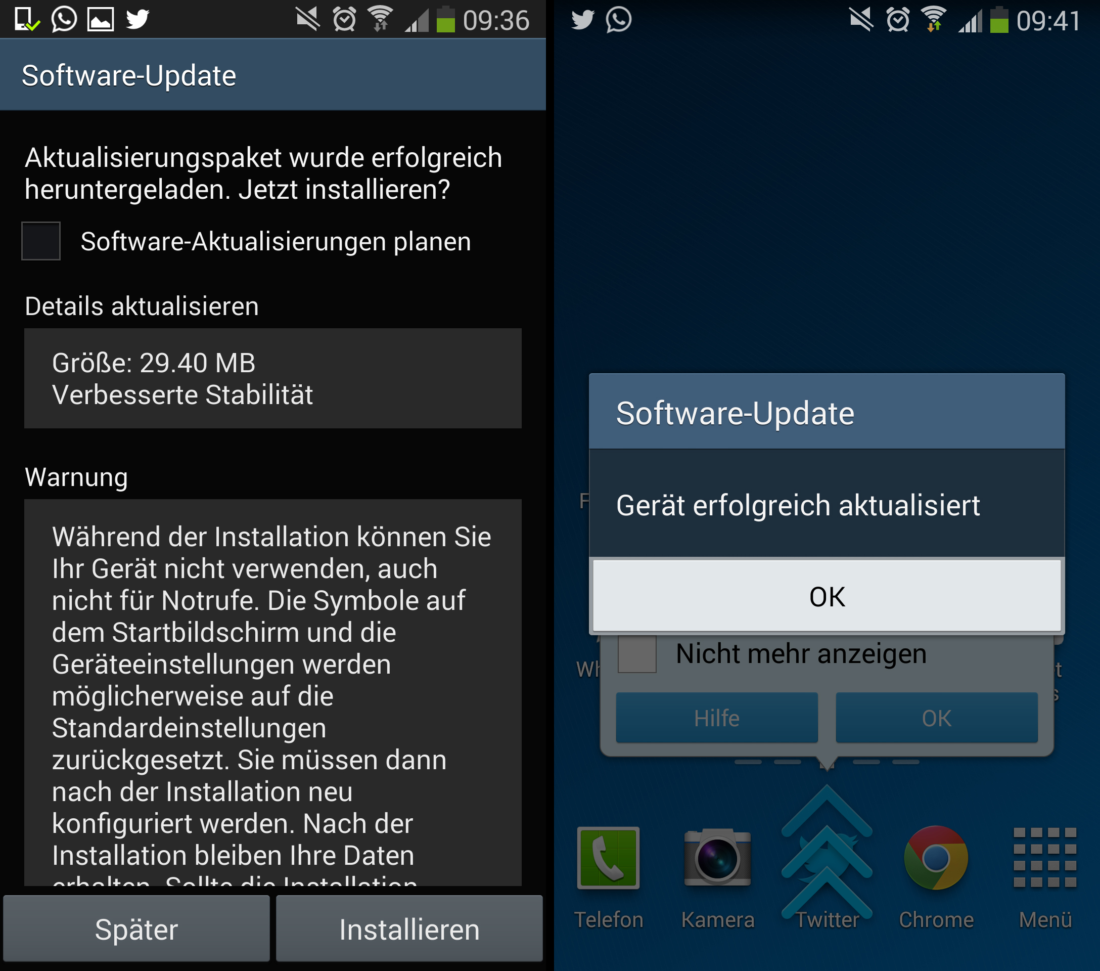 Samsung Galaxy Note 3 receiving second update