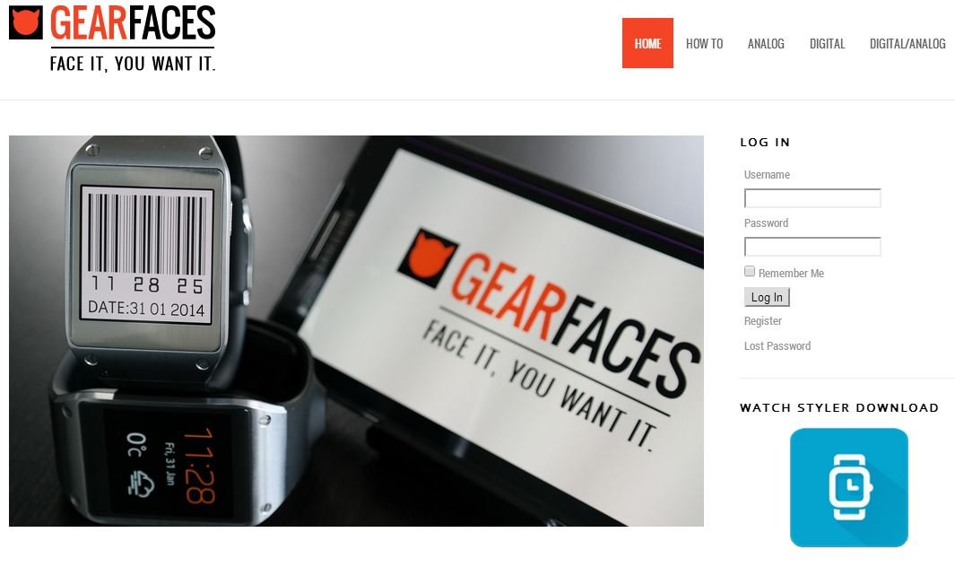 Visit GearFaces.com for stunning downloadable Galaxy Gear ...