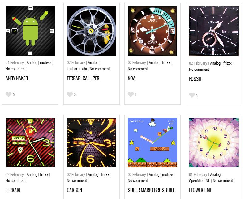 visit gearfaces com for stunning downloadable galaxy gear watch