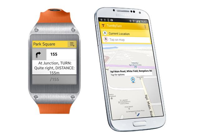 Galaxy Gear Get Turn-by-Turn Navigation
