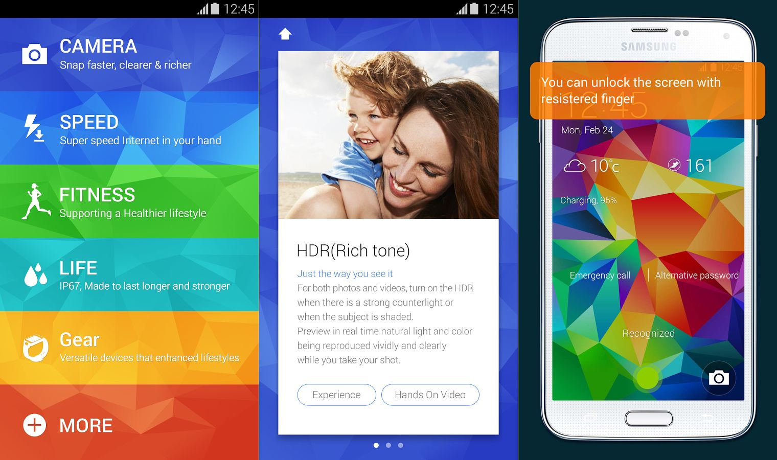 Samsung's Galaxy S5 Experience app lets you try out the ...