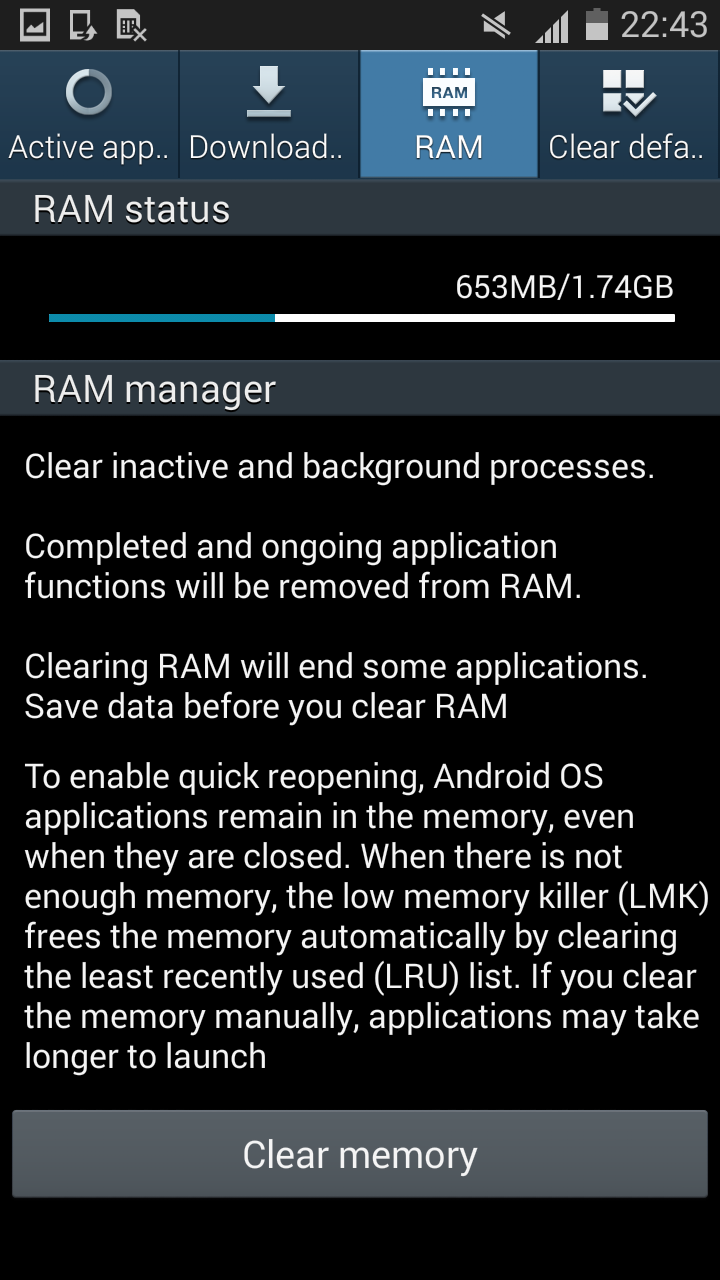 mise a jour android 4.4.4