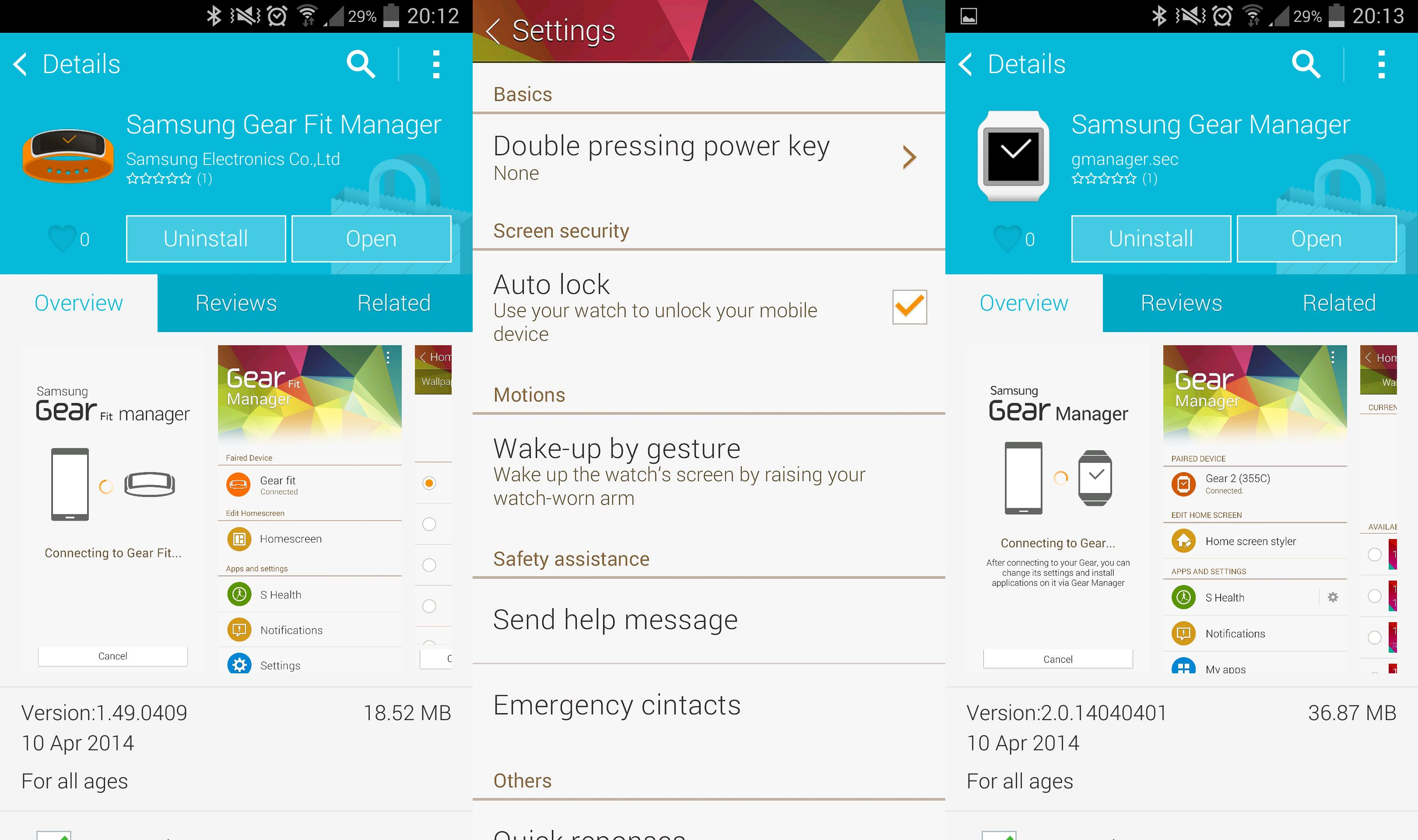 apps for galaxy gear fit | Fitness and Workout