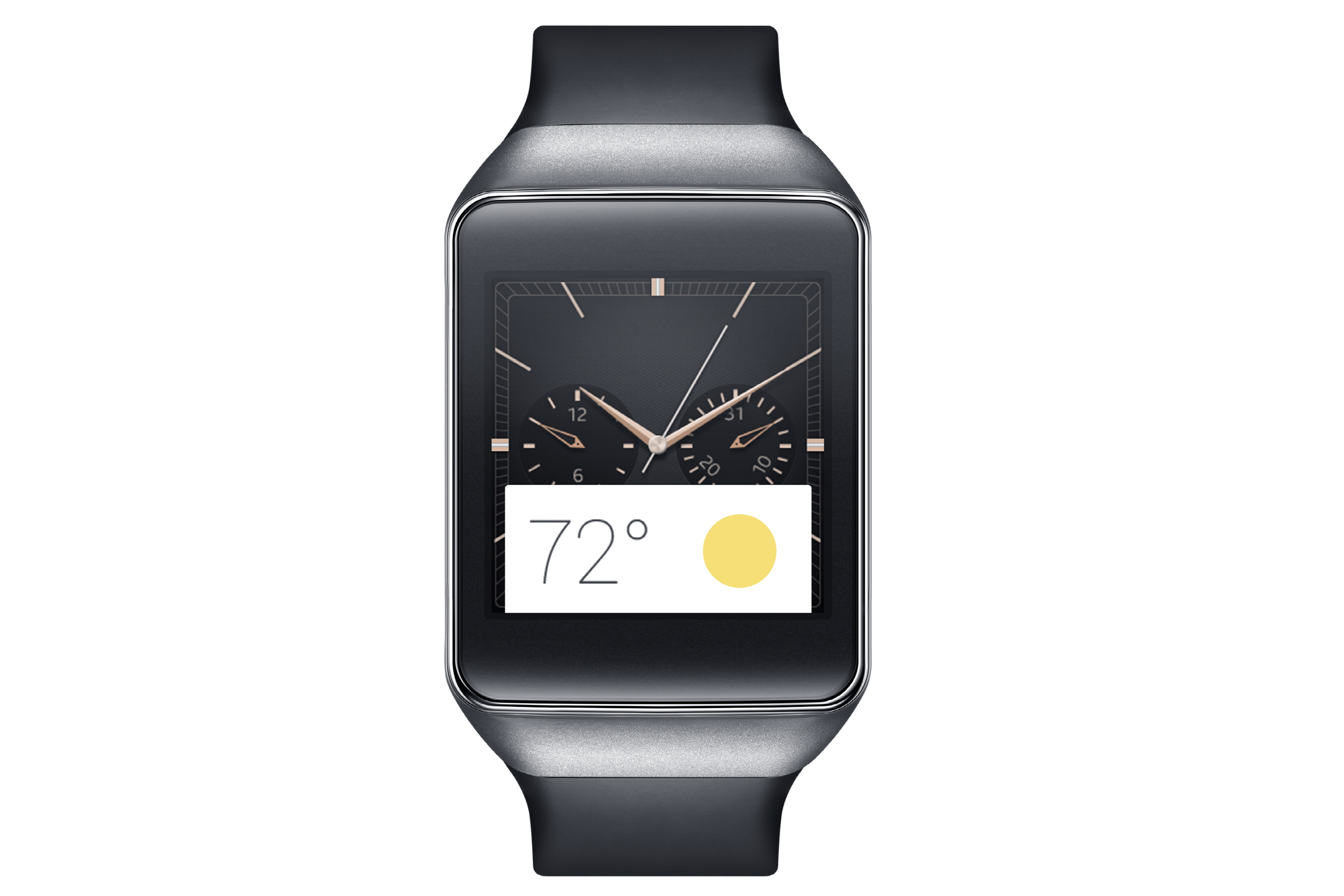 Samsung Launched its Smartwatch with Android Wear