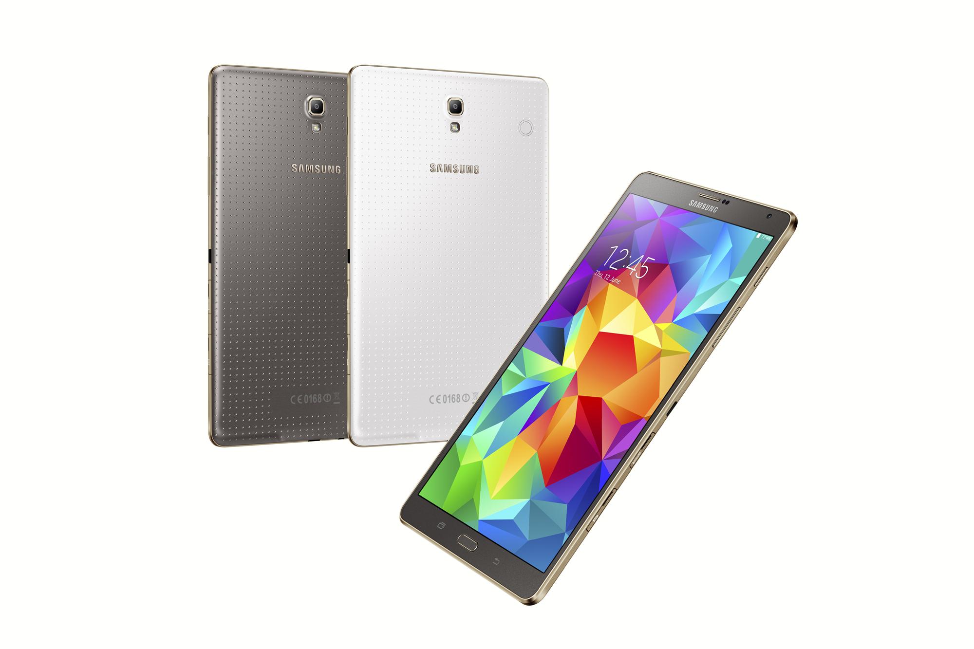 Samsung announces Galaxy Tab S with WQXGA (2560×1600) Super AMOLED ...