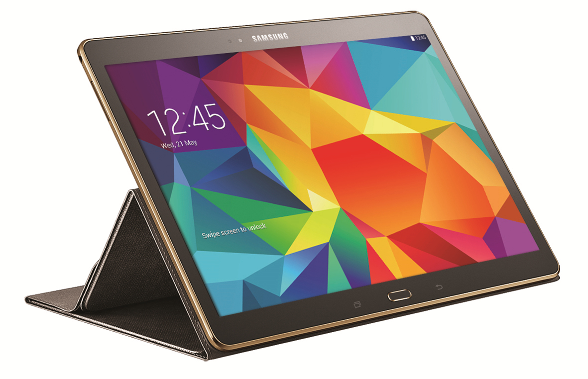 Samsung Galaxy Tab S Accessories To Include Book Cover