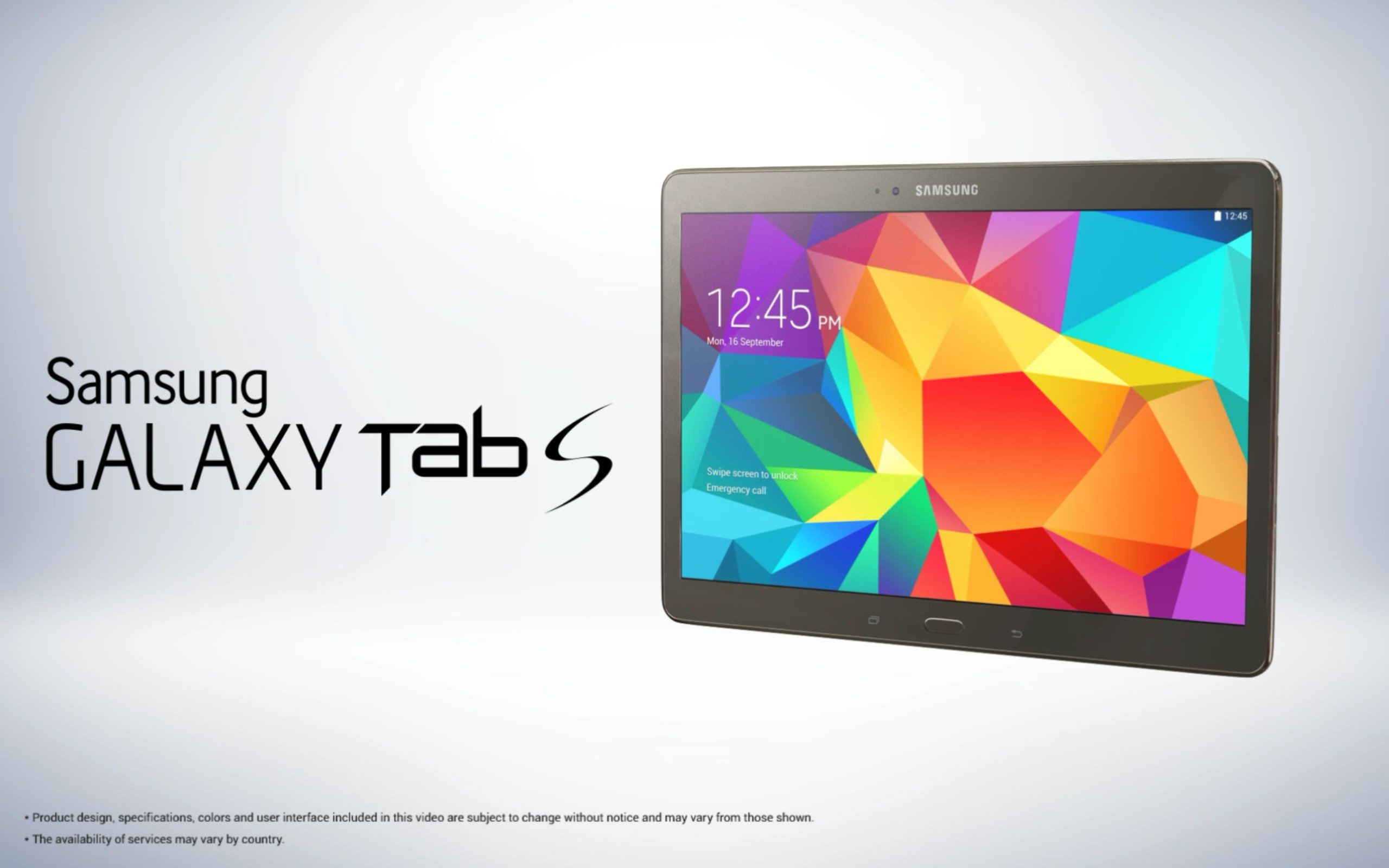 here are a few samsung galaxy tab s images and features. Black Bedroom Furniture Sets. Home Design Ideas