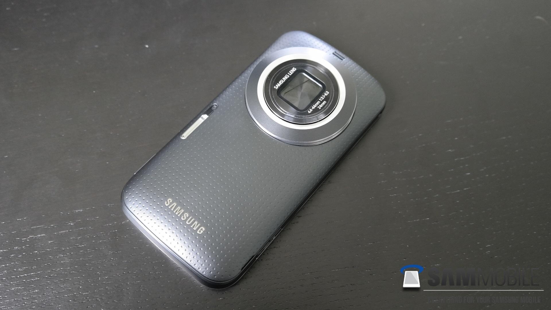 Review Samsung Galaxy K Zoom Sammobile S4 Black Csc