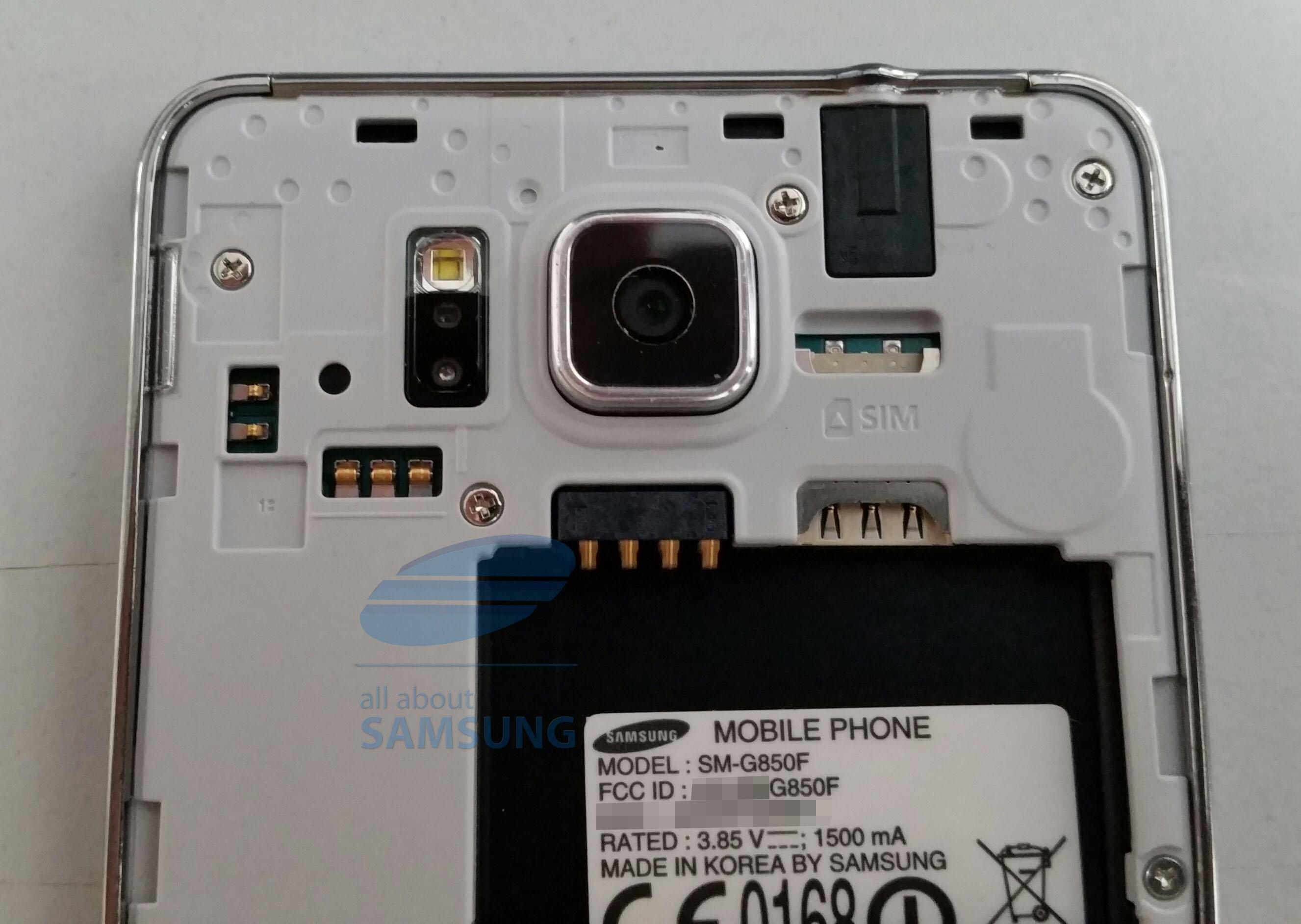 Samsung Galaxy Alpha Nano Sim