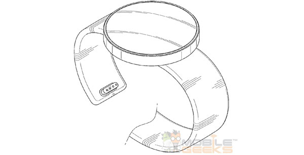 Samsung Round Display Smartwatch Patent 1