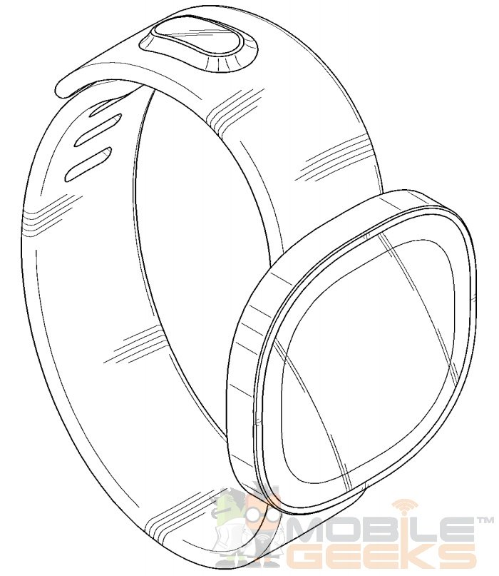 Samsung Round Display Smartwatch Patent 2
