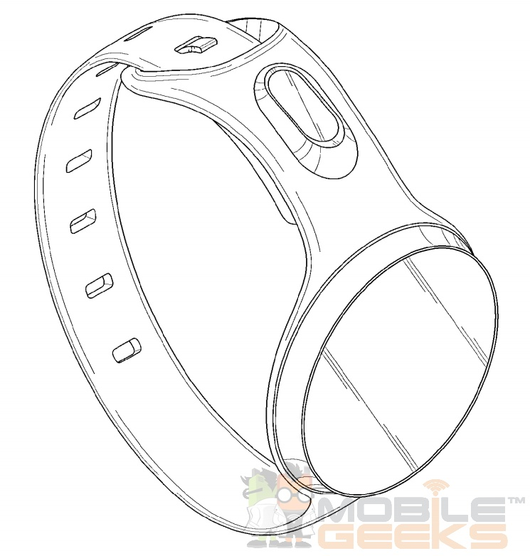 Samsung Round Display Smartwatch Patent 3