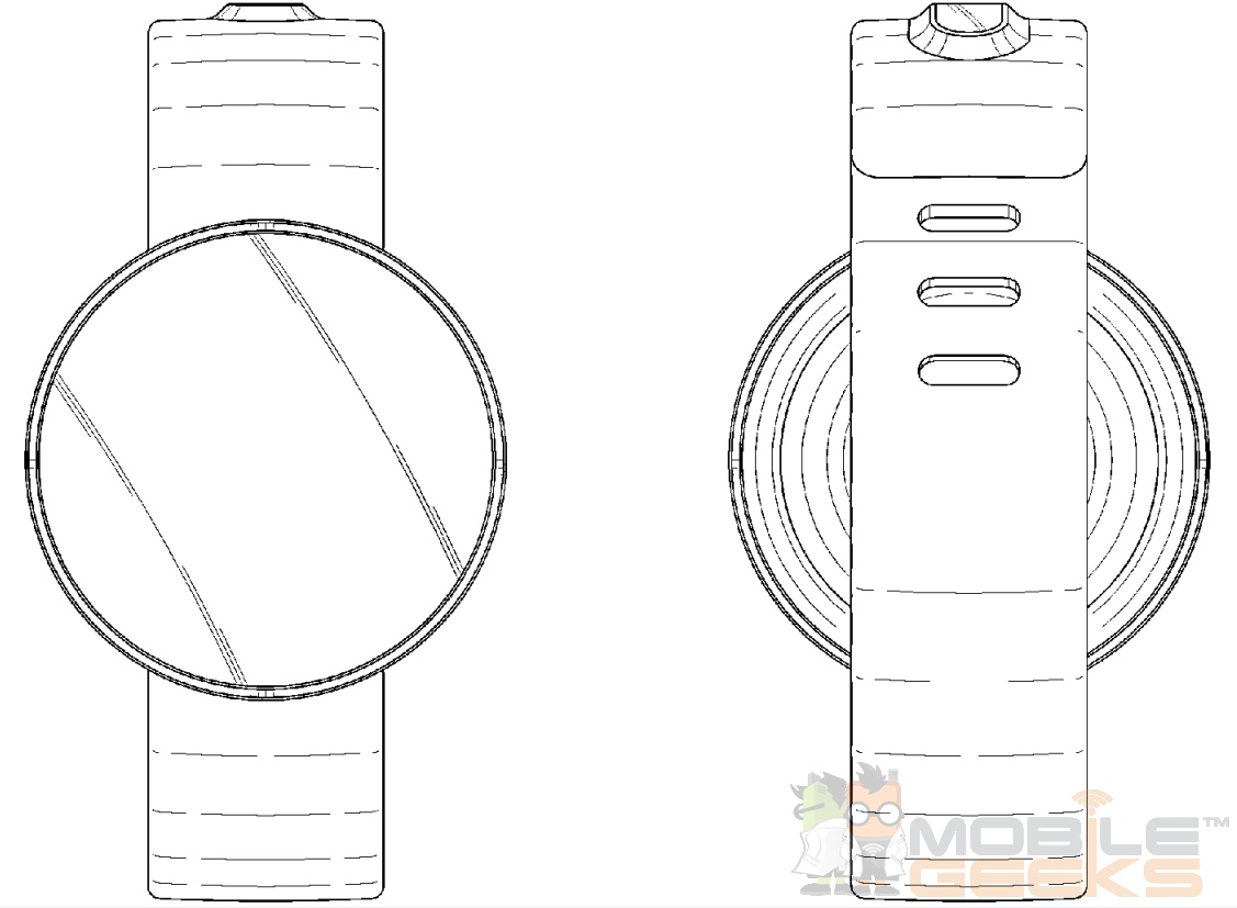Samsung Round Display Smartwatch Patent