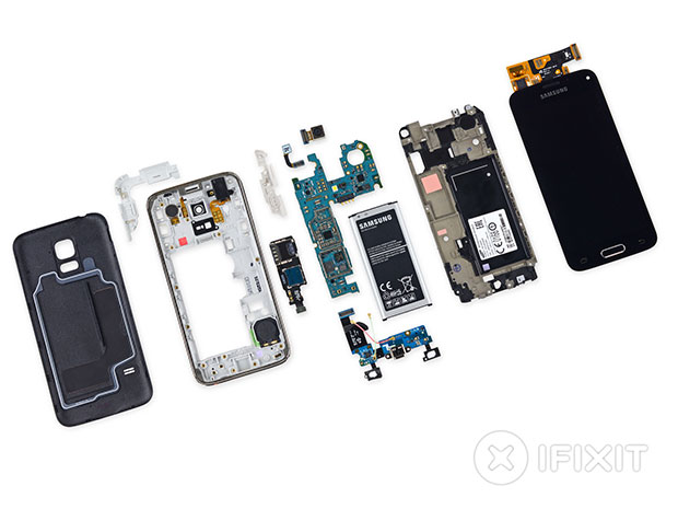 Galaxy S5 mini teardown