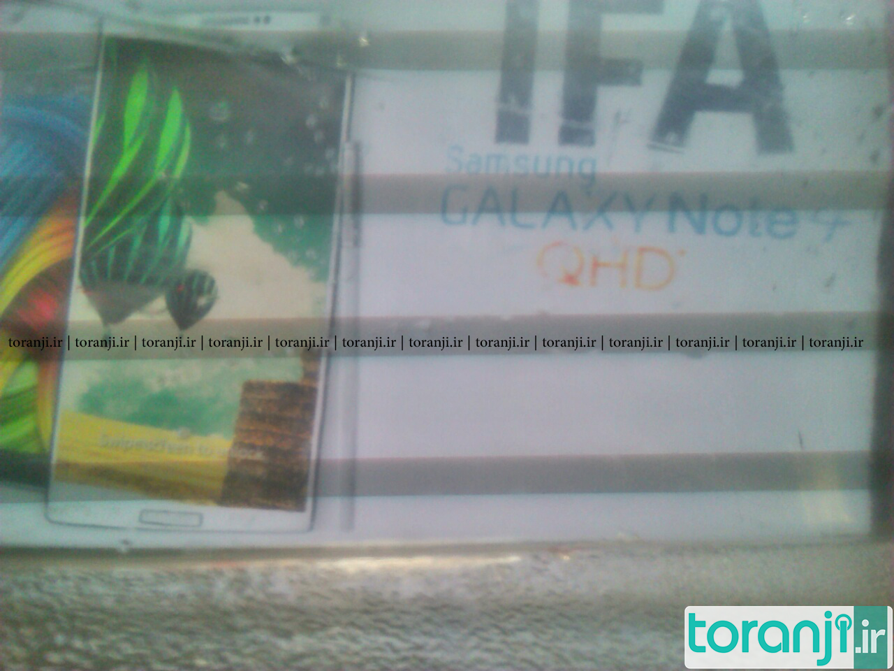 Samsung Galaxy Note 4 IFA Poster Leak