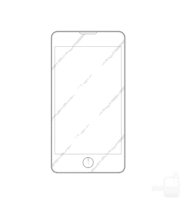 iPhone-like-Samsung-phone-design-patent