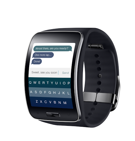 Fleksy On Samsung Gear S